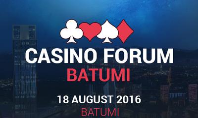 В столице Аджарии состоится гемблинг-форум Casino Forum Batumi